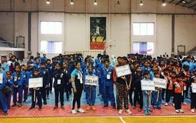 印度越武道運動員參加2020年第十屆印度越武道錦標賽。(圖源:互聯網)