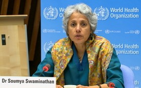 世界衛生組織首席科學家蘇米婭‧斯瓦米納坦。(圖源:WHO)