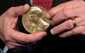 諾貝爾獎。(圖源:AP)
