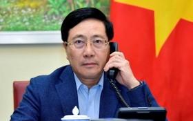 政府副總理、外交部長范平明。(圖源:VTC News)