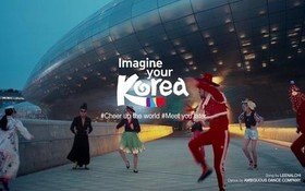 "LG集團旗下廣告商HS Ad推出韓國旅遊宣傳""Feel the Rhythm of KOREA""。(圖源:韓聯社)"