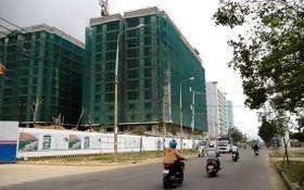 圖為當前在建設中的和慶工業區社會住房公寓項目。(圖源:晉力)