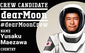 前澤友作發起「親愛的月球」計劃招募志願者參與月球之旅。(圖源:互聯網)