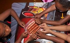 不少美國兒童正面臨食品短缺危機。(示意圖源:紐約時報)