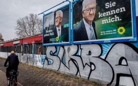 根據德國疾控機構說法,德國目前已進入第三波新冠疫情。儘管各州已開始不同程度地重啟零售業和社會文化生活,但以往州一級選舉中常見的大規模競選造勢活動今年已不見蹤跡。(圖源:Getty Images)