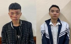 撞傷交警的兩名歹徒被起訴。左圖:阮文生;右圖:阮曰楊。(圖源:警方提供)
