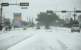 暴風雪襲擊美國得克薩斯州。(圖源:新華社)