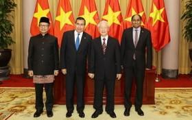 總書記、國家主席接受3國大使遞交國書