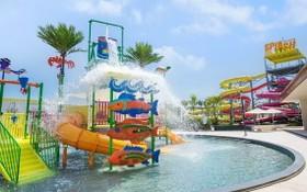 圖為 Alma 度假區的水上樂園。