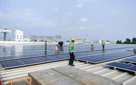 將於今年5月竣工的MM屋頂太陽能發電項目。