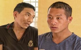 被抓獲的2名歹徒李松(左圖)和黃亞箏(右圖)。(圖源:警方提供)