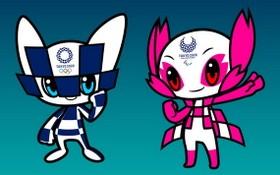 東京奧運會吉祥物。