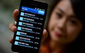 MobiFone網絡供應商的0905654……電話號碼用戶收到許多垃圾簡訊。