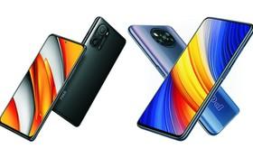 智能手機POCO F3(左)和POCO X3 Pro(右)。(圖源:互聯網)