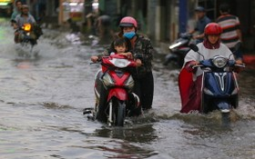 因排水規劃不再符合現狀,故每次降雨或潮汛,本市多條街道都受淹。