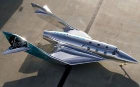 """當地時間3月30日,維珍銀河公司公佈了名為""""VSS Imagine""""的全新一代太空飛機。(圖源:AP)"""