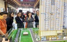 """房地產市場除了傳統交易形式,如今已出現""""在線集資""""形式。"""