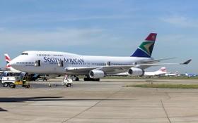 南非航空公司的一架客機。(圖源:互聯網)