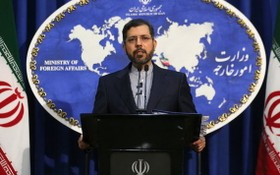 伊朗外交部發言人哈蒂布扎德。(圖源:Getty Images)