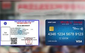 新醫保卡的大小與ATM卡一樣。