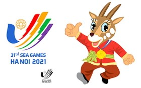 圖為第三十一屆東南亞運動會的吉祥物。(圖源:體育總局)