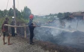 福門縣木廠火警燒毀大量財物