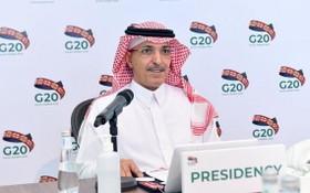 擔任G20輪值主席的沙烏地阿拉伯財政部長賈丹。(圖源:G20臉書)