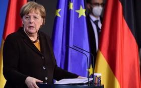 德國總理默克爾。(圖源:EPA)