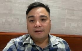 被扣押的嫌犯黎志成。(圖源:互聯網)