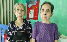 劉麗香(左)與姐姐劉麗芳均患上同樣的病症。