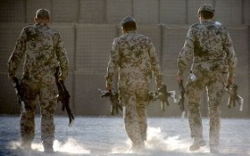 駐阿富汗德軍士兵。 (圖源:DPA)