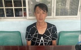 被扣押的歹徒范玉海。(圖源:阮安)