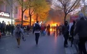 """法國當地時間5月1日在新冠疫情中迎來""""五一""""勞動節大遊行。(圖源:互聯網)"""