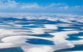 神奇的千湖沙漠。