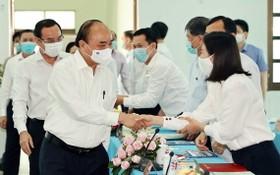 國家主席阮春福致力推動福門與古芝縣發展