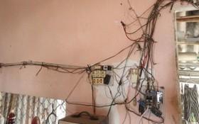 平盛郡某個電器店向客戶推介既節能又安全的led燈泡。