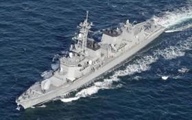 圖為海上自衛隊驅逐艦「高波號」。(圖源:路透社)