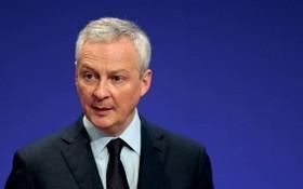 法國財政部長勒麥爾10日表示,法國經濟將在2022年上半年恢復到疫情前的水準。(圖源:路透社)