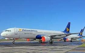圖為越旅航空客機。(圖源:互聯網)
