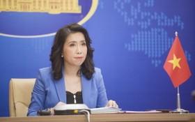 外交部發言人黎氏秋姮。(圖源:嘉寶)