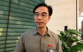 白梅醫院院長阮光俊退出國會代表候選人名單。(圖源:志平)