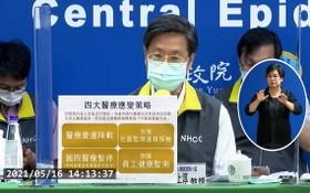 指揮中心要求,為避免全台確診病人無病床收治,全台醫療機構實施門診營運降載等四項措施。(圖源:互聯網)