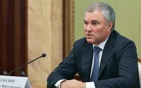 俄國家杜馬主席沃洛金。(圖源:互聯網)