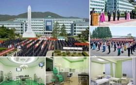5月19日,朝鮮咸鏡南道人民醫院經升級改造重新投入使用。 (圖源:《勞動新聞》截圖)