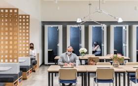 WeWork所設計的工作空間,旨在確保員工在疫情下工作的安全性。