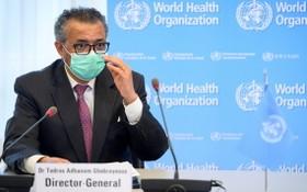 世界衛生組織總幹事譚德塞在瑞士日內瓦參加世界衛生大會。(圖源:互聯網)