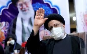 伊朗6月即將舉行總統大選,憲法監護委員會已批准司法部長萊希在內等7人參選。圖為伊朗司法制度首席法官萊希。(圖源:AP)