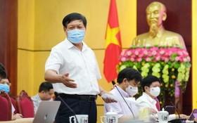 衛生部副部長杜春宣在會上發言。(圖源:衛生部)