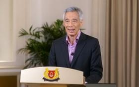 新加坡總理李顯龍5月31日發表演說,表示本地新型冠狀病毒肺炎新冠疫情如果持續改善,社區病例也進一步減少,新加坡應可在6月13日後放寬限制措施。(圖源:MCI)
