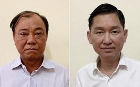 左圖起依次為Sagri原總經理黎晉雄及市人委會原副主席陳永線。(圖源:公安部)